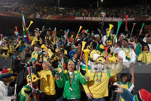 FIFA World Cup South Africa fans in stands during Group A Match 17 vs Uruguay at Loftus Versfeld Stadium Tshwane Pretoria South Africa 6/16/2010...