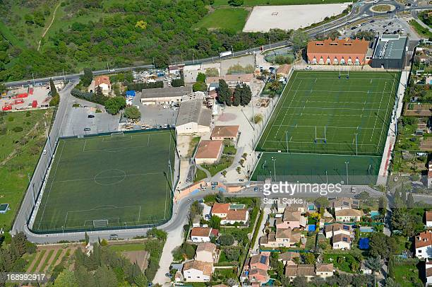 Soccer Football and rugby stadium