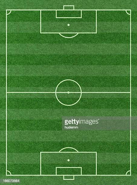 soccer football pitch background textured - voetbalveld stockfoto's en -beelden