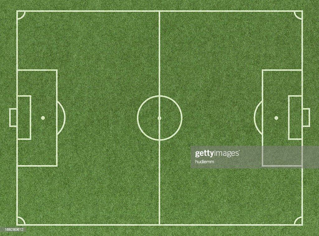 Fußball Fußball Feld : Stock-Foto