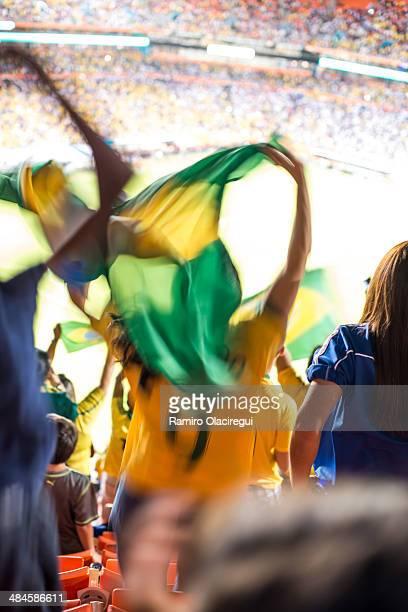 Soccer game in Brazil