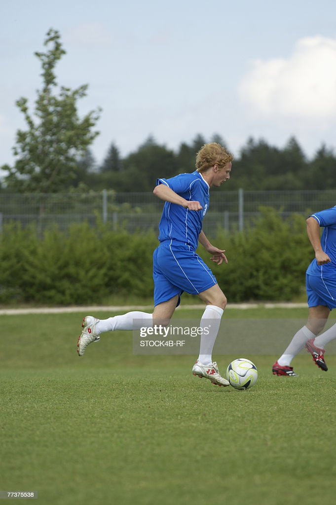 Soccer game : Stock Photo