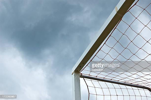 Cage de but de football