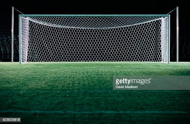 soccer goal - netting stock pictures, royalty-free photos & images