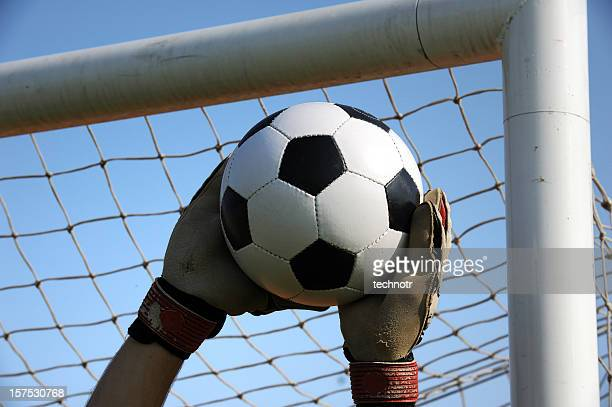 soccer goalie - making a save sports stock pictures, royalty-free photos & images