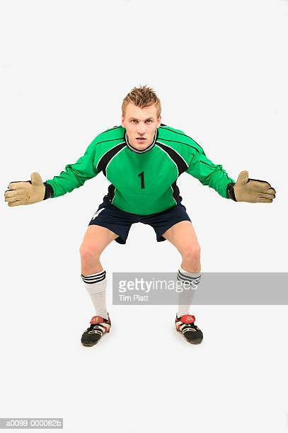 soccer goalkeeper - goalie goalkeeper football soccer keeper stock pictures, royalty-free photos & images