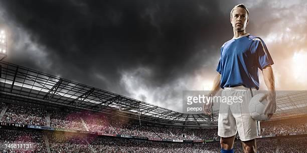 campione del calcio - calciatore foto e immagini stock