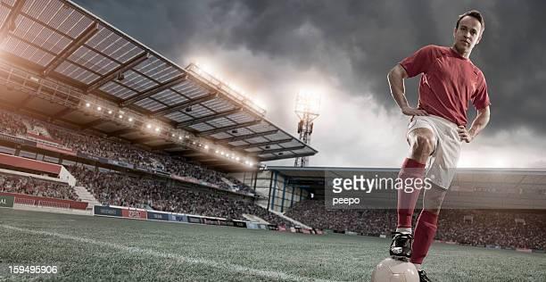 Soccer Hero Portrait