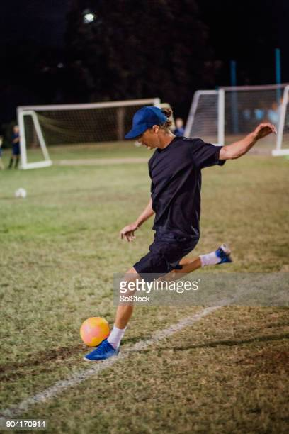soccer instructor - football league stock pictures, royalty-free photos & images