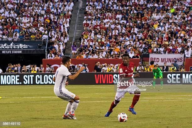 International Champions Cup Bayern Munich David Alaba in action vs Real Madrid during preseason game at MetLife Stadium East Rutherford NJ CREDIT...