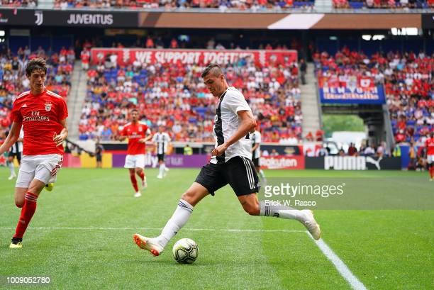 International Champions Cup Juventus FC Andrea Favilli in action vs SL Benfica at Red Bull Arena Harrison NJ CREDIT Erick W Rasco