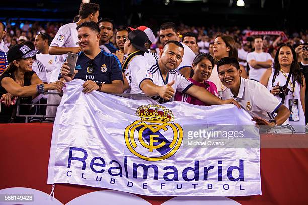 International Champions Cup: View of Real Madrid fans during preseason game at MetLife Stadium. East Rutherford, NJ 8/3/2016 CREDIT: Michael Owens