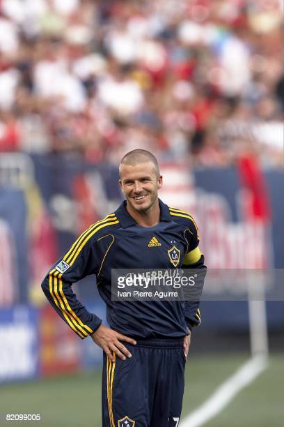 Los Angeles Galaxy David Beckham in action vs New York Red Bulls East Rutherford NJ 7/19/2008 CREDIT Ivan Pierre Aguirre