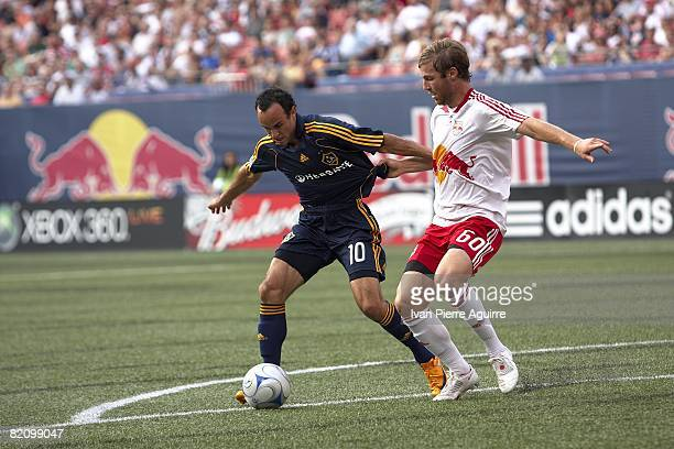 Los Angeles Galaxy Landon Donovan in action vs New York Red Bulls. East Rutherford, NJ 7/19/2008 CREDIT: Ivan Pierre Aguirre