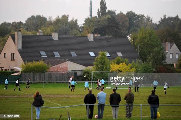 Made In Belgiumfc Strombeek Illustration Illustratie Foot En Belgique Voetbal In Belgie Flandre Flanders Vlaanderen Wallonnie Walonie / Tim De Waele