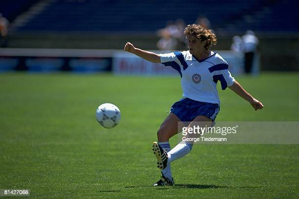 Soccer Miscellaneous USA Amateur team member in action during game vs USA National Team New Haven CT 6/9/1991