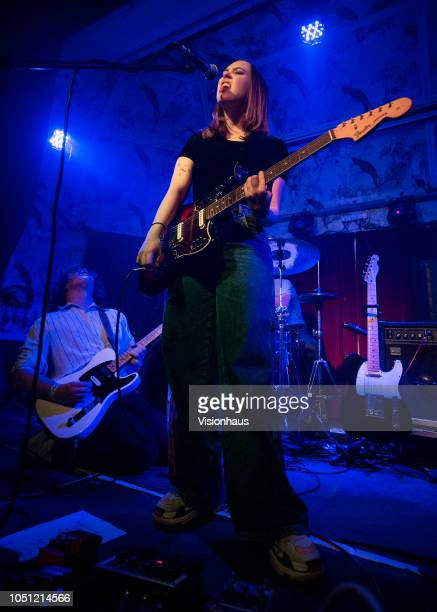 Soccer Mommy project of Sophie Allison performs at the Deaf Institute on September 05 2018 in Manchester England