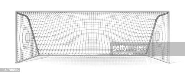 soccer net - goal sports equipment stock pictures, royalty-free photos & images