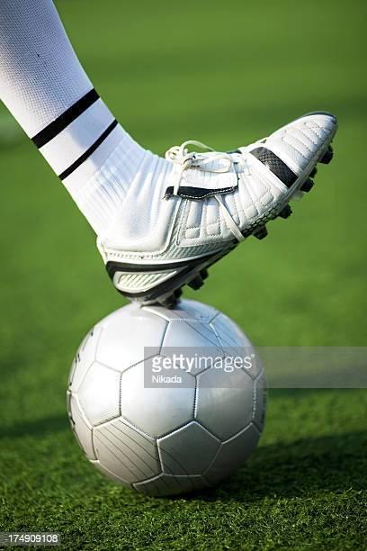 Fußball oder Football-Spieler