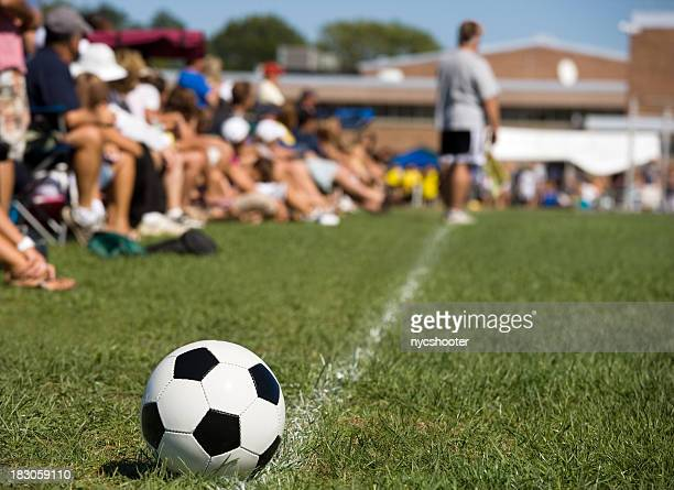 soccer parents sideline - sideline stock pictures, royalty-free photos & images