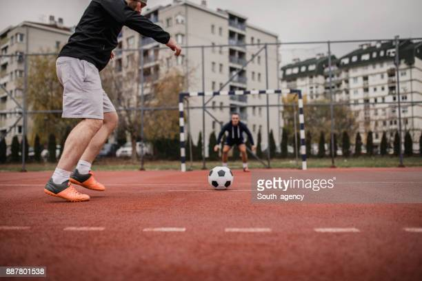 soccer penalty kick - south_agency stock pictures, royalty-free photos & images