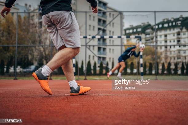 soccer penalty - penalty kick stock pictures, royalty-free photos & images
