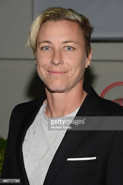 Soccer player Abby Wambach attends BODY at ESPYs at Milk Studios on July 14 2015 in Hollywood California