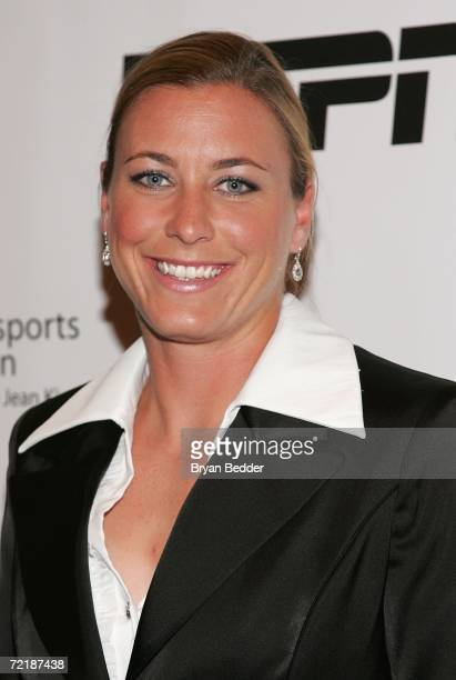 Soccer player Abby Wambach attends the 27th Annual Salute To Women In Sports Awards Dinner at the Waldorf Astoria Hotel October 16 2006 in New York...