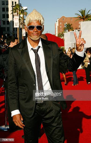 MLS soccer player Abel Xavier arrives at the 2007 ESPY Awards at the Kodak Theatre on July 11 2007 in Hollywood California