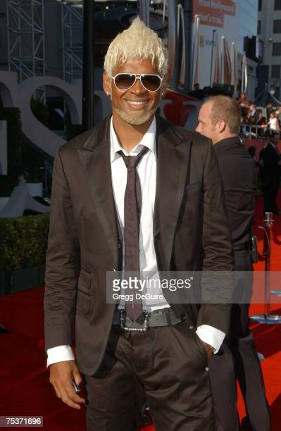MLS soccer player Abel Xavier arrives to the 2007 ESPY Awards at the Kodak Theatre on July 11 2007 in Hollywood California