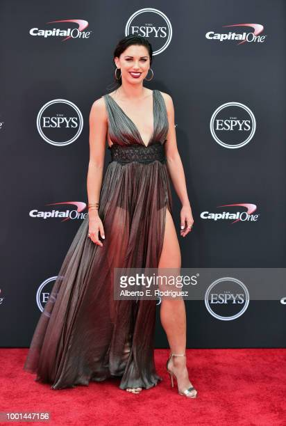 Soccer player Alex Morgan attends The 2018 ESPYS at Microsoft Theater on July 18 2018 in Los Angeles California
