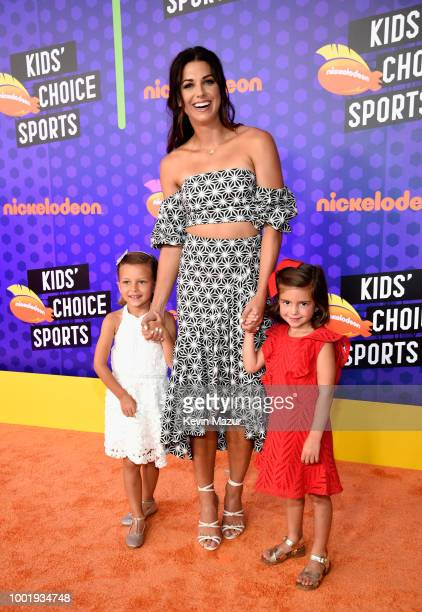 Soccer player Alex Morgan attends the Nickelodeon Kids' Choice Sports 2018 at Barker Hangar on July 19 2018 in Santa Monica California