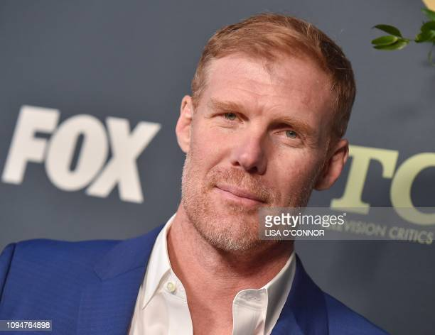 US soccer player Alexi Lalas arrives at the FOX Winter TCA AllStar Party 2019 at The Fig House in Los Angeles on February 6 2019