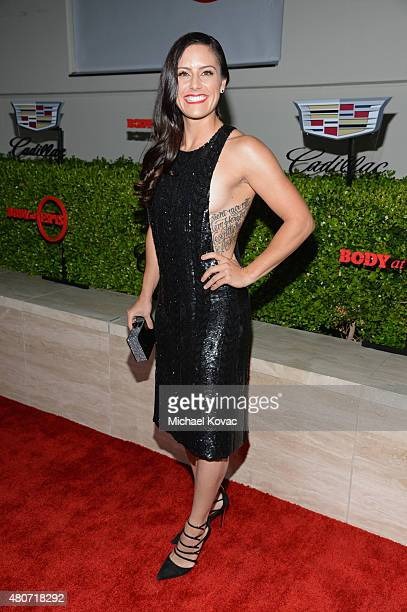 Soccer player Ali Krieger attends BODY at ESPYs at Milk Studios on July 14, 2015 in Hollywood, California.