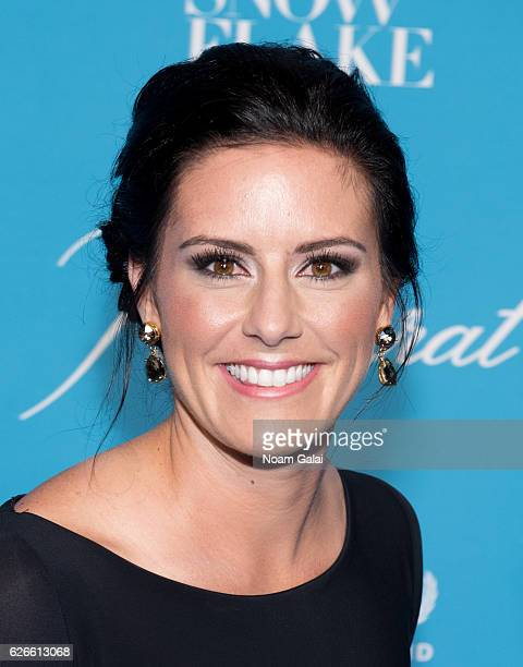 Soccer player Ali Krieger attends the 12th Annual UNICEF Snowflake Ball at Cipriani Wall Street on November 29 2016 in New York City
