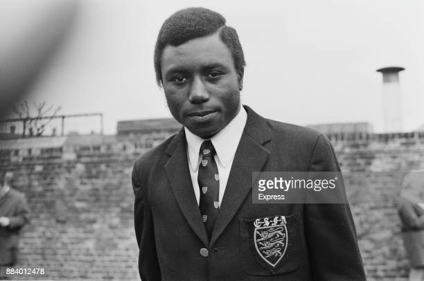 Soccer player Benjamin Odeje of Charlton Athletic FC 16th April 1971 He was the first black footballer to represent England at any level