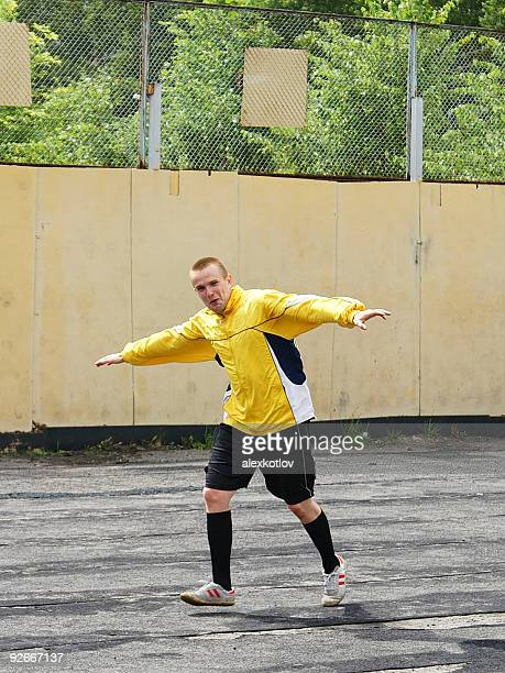 soccer player celebrating goal - amateur stock pictures, royalty-free photos & images