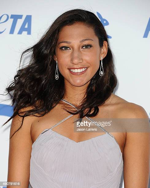 Soccer player Christen Press attends PETA's 35th anniversary party at Hollywood Palladium on September 30 2015 in Los Angeles California