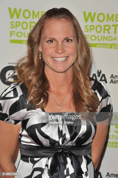 Soccer player Christie Rampone attends the 30th Annual Salute To Women In Sports Awards at The Waldorf=Astoria on October 13 2009 in New York City