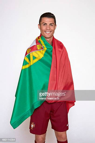 Soccer player Cristiano Ronaldo is photographed for Sports Illustrated on May 30 2014 in Lisbon Portugal CREDIT MUST READ Marco Marezza/Sports...
