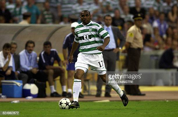 Soccer player Didier Agathe