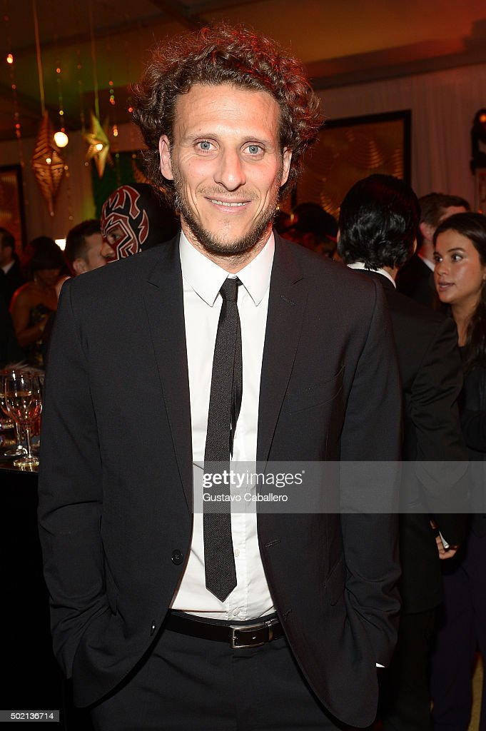 Soccer player Diego Forlan attends Univision Deportes 2015
