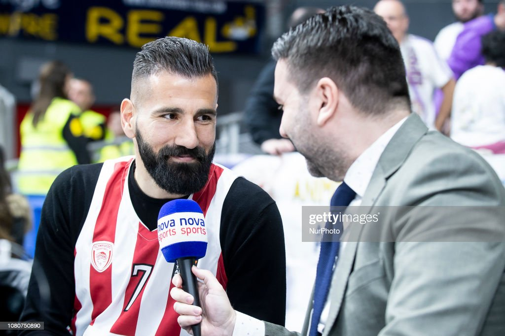 Soccer player Dimitrios Siovas of CD Leganes during Turkish