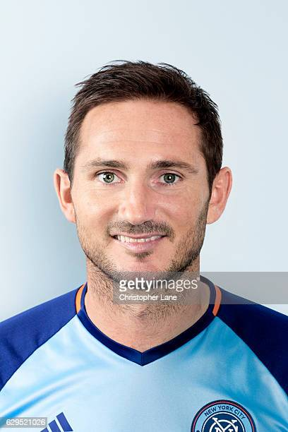 Soccer player Frank Lampard is photographed for Telegraph on August 19 2016 at SUNY in Purchase New York