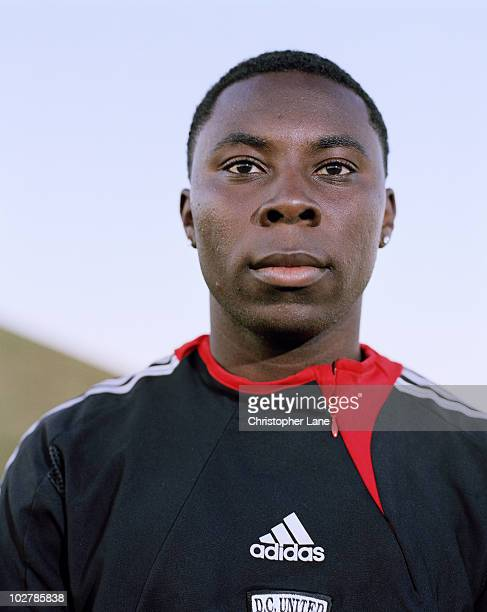 Soccer player Freddie Adu poses at a portrait session for Der Spiegel Magazine in 2006 in Tampa Florida for the March 2006 issue