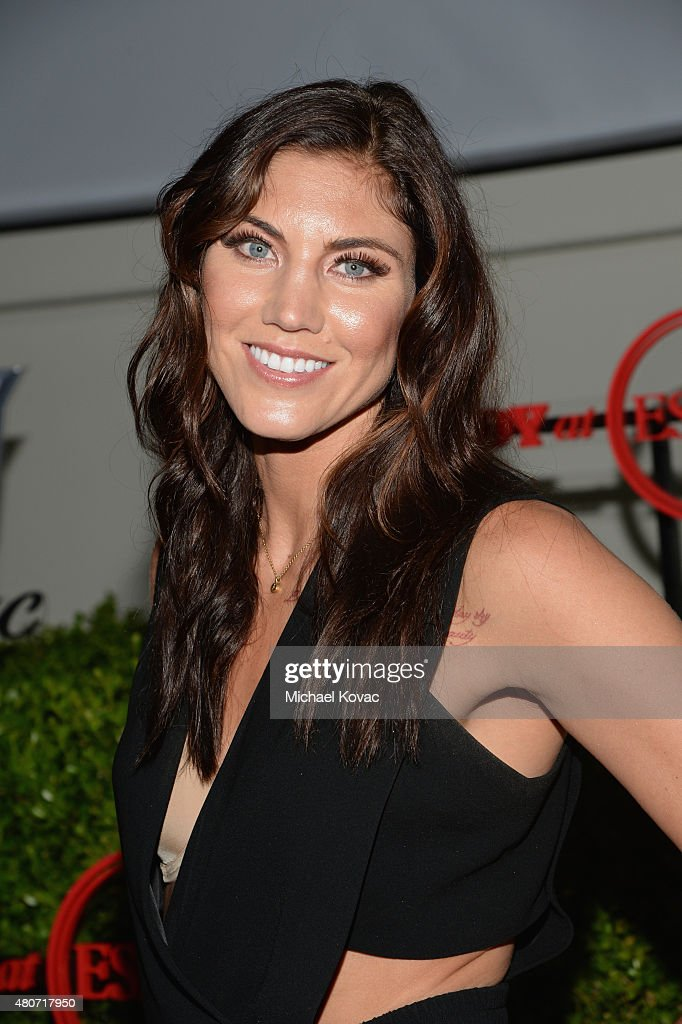 Soccer player Hope Solo attends BODY at ESPYs at Milk Studios on July 14, 2015 in Hollywood, California.