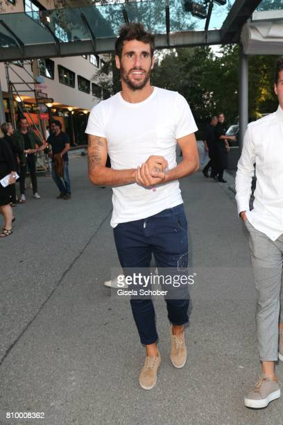 Soccer player Javier Martinez during the 50th anniversary celebration of Marc O'Polo at its headquarters on July 6 2017 in Stephanskirchen near...