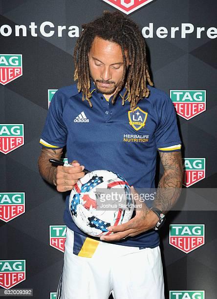 Soccer player Jermaine Jones attends MLS Media Week - Day 2 at Manhattan Beach Marriott on January 18, 2017 in Manhattan Beach, California.