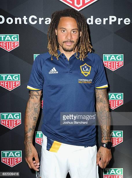 MLS soccer player Jermaine Jones attends MLS Media Week Day 2 at Manhattan Beach Marriott on January 18 2017 in Manhattan Beach California