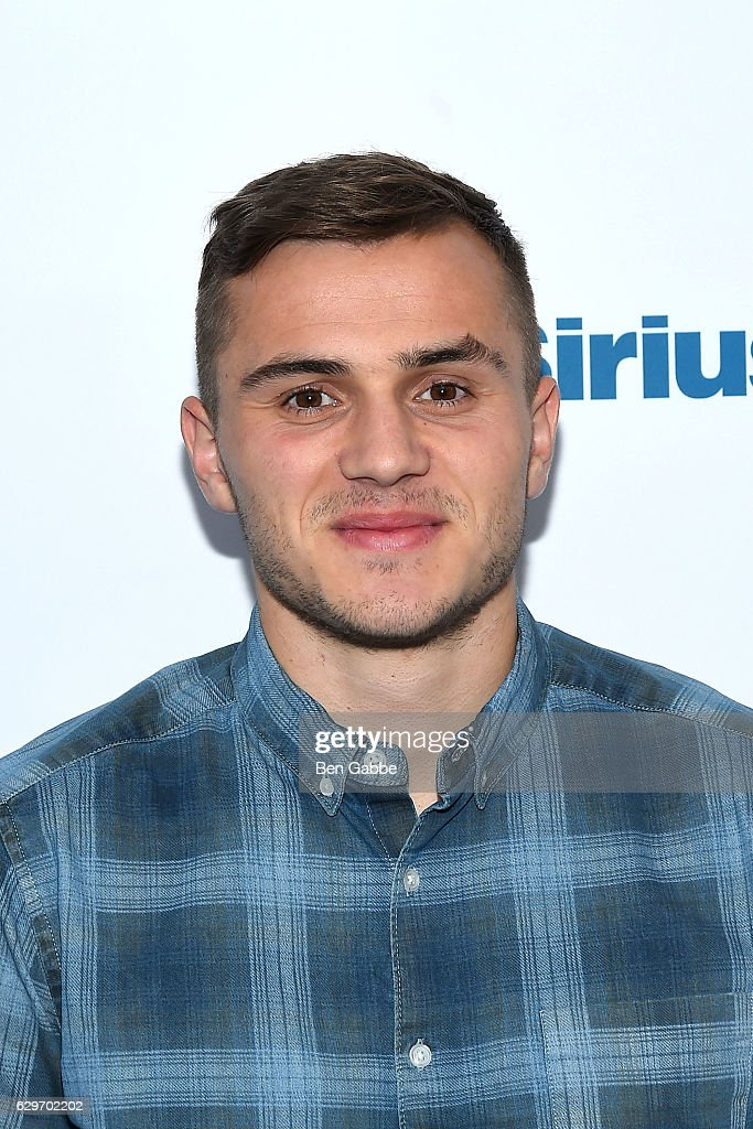 Soccer player Jordan Morris visits at SiriusXM Studio on December 14, 2016 in New York City.